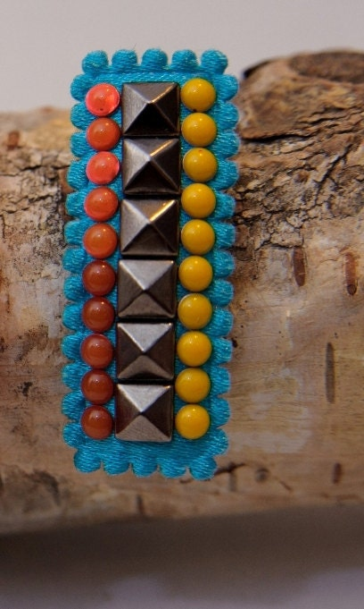 Tribal Design Snap Hair Clip, you pick the color (for babies & toddlers) - LoveBex