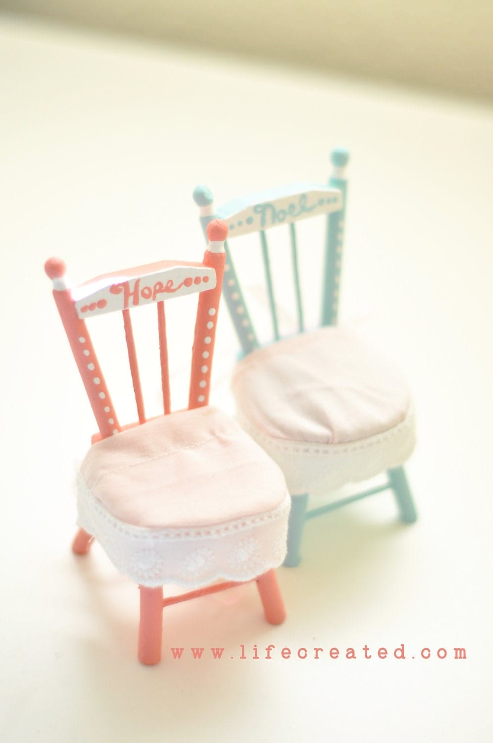 Personalizable Dollhouse Chairs