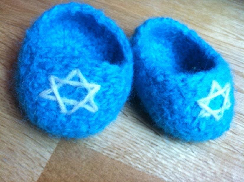 Hanukkah Booties - beccapriddy
