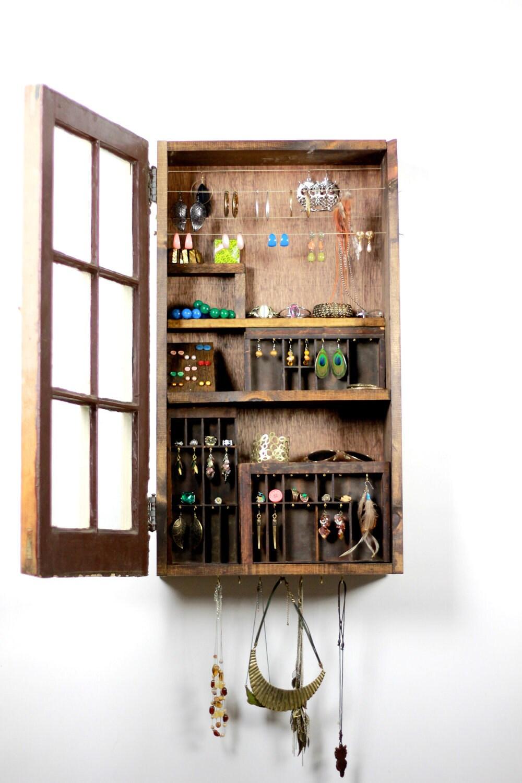 Closet Door Jewelry Organizer