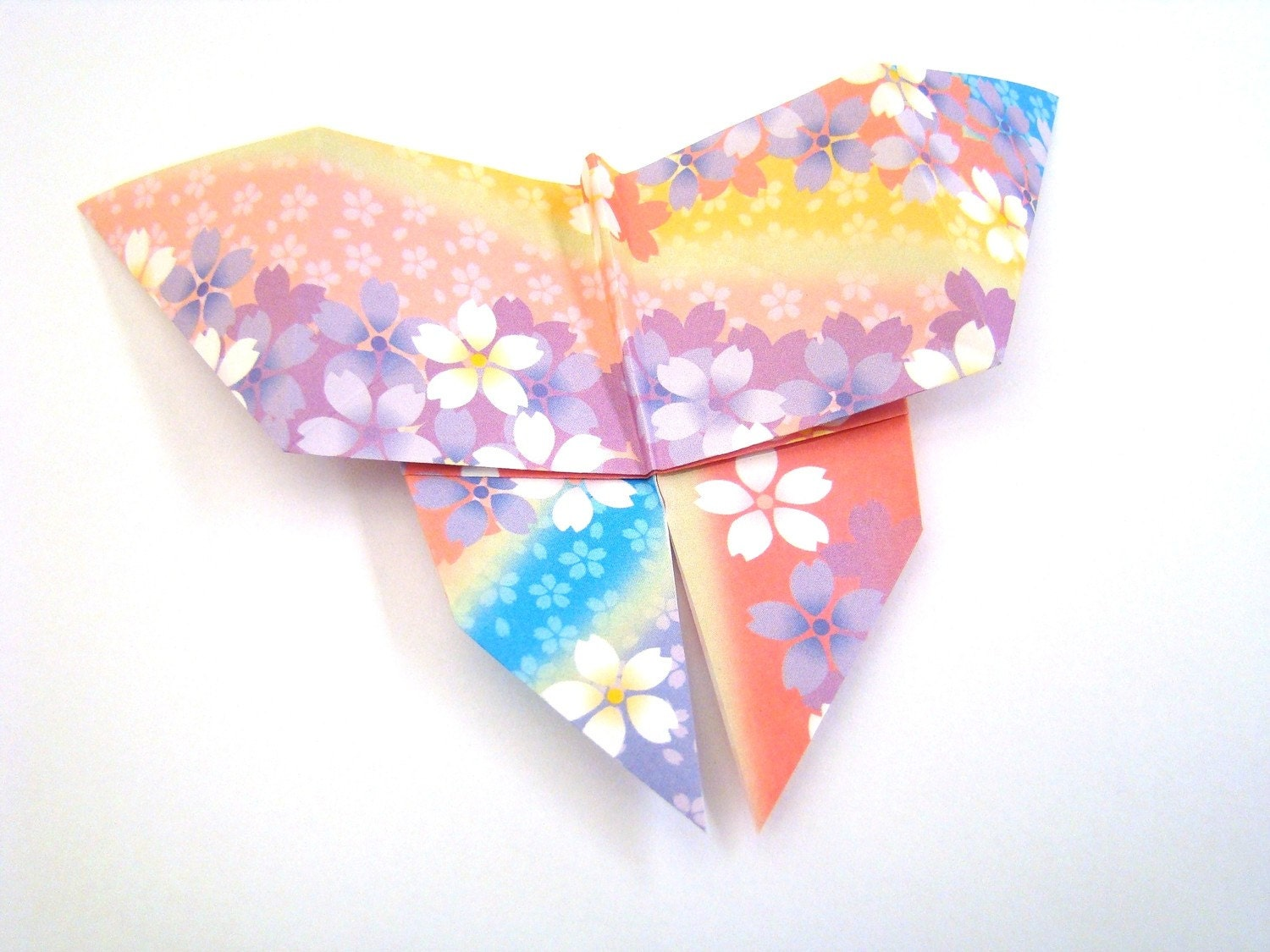 Origami Butterflies - Patterned Butterflies - Set of 5