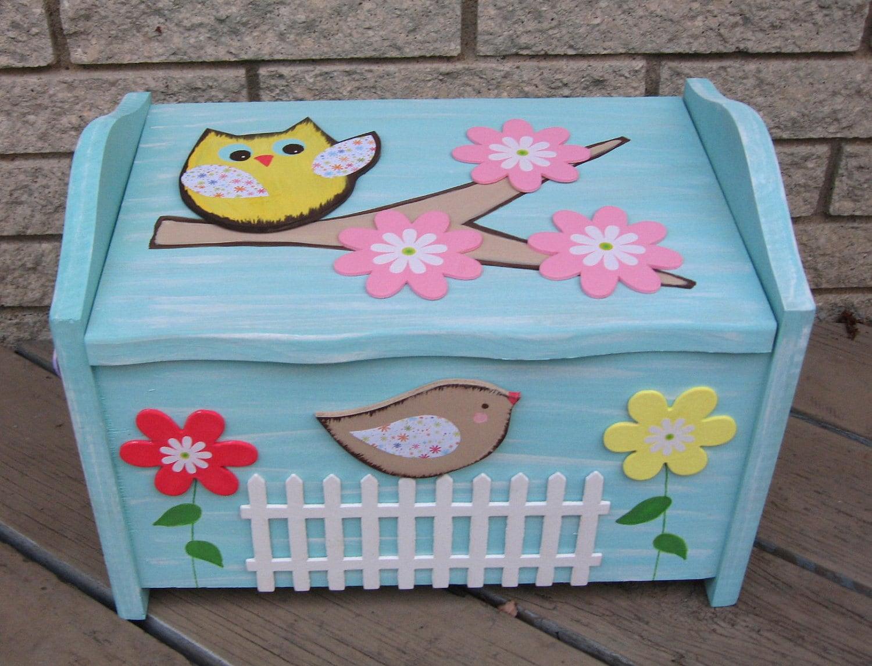Toy Box Грудь Брук Daisy Garden Дети Керамика Barn Вдохновленный экологию Keepsake по Storytime АРТ