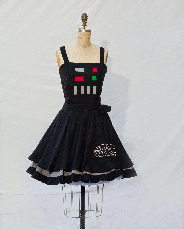 Darth Vader Star Wars Retro Style Dress