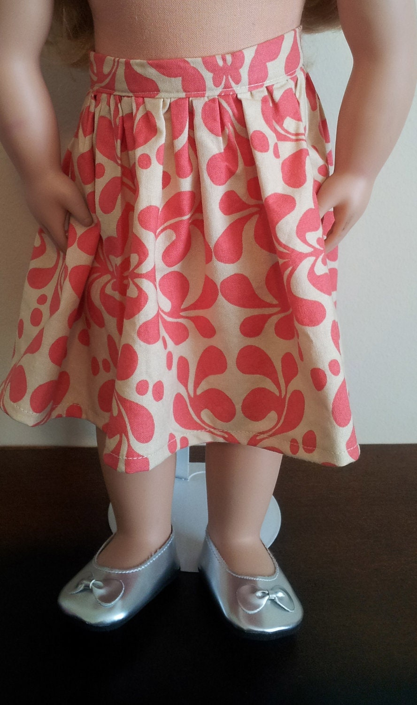 18 inch doll skirt