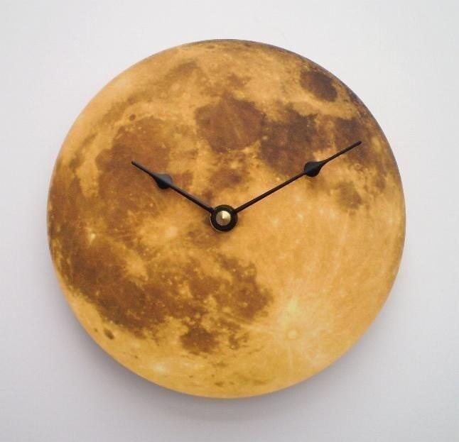 Autumn Moon Clock - CyberMoon