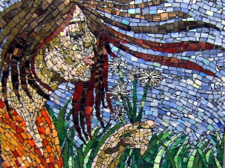 Beautiful Hand Cut Glass Mosaic