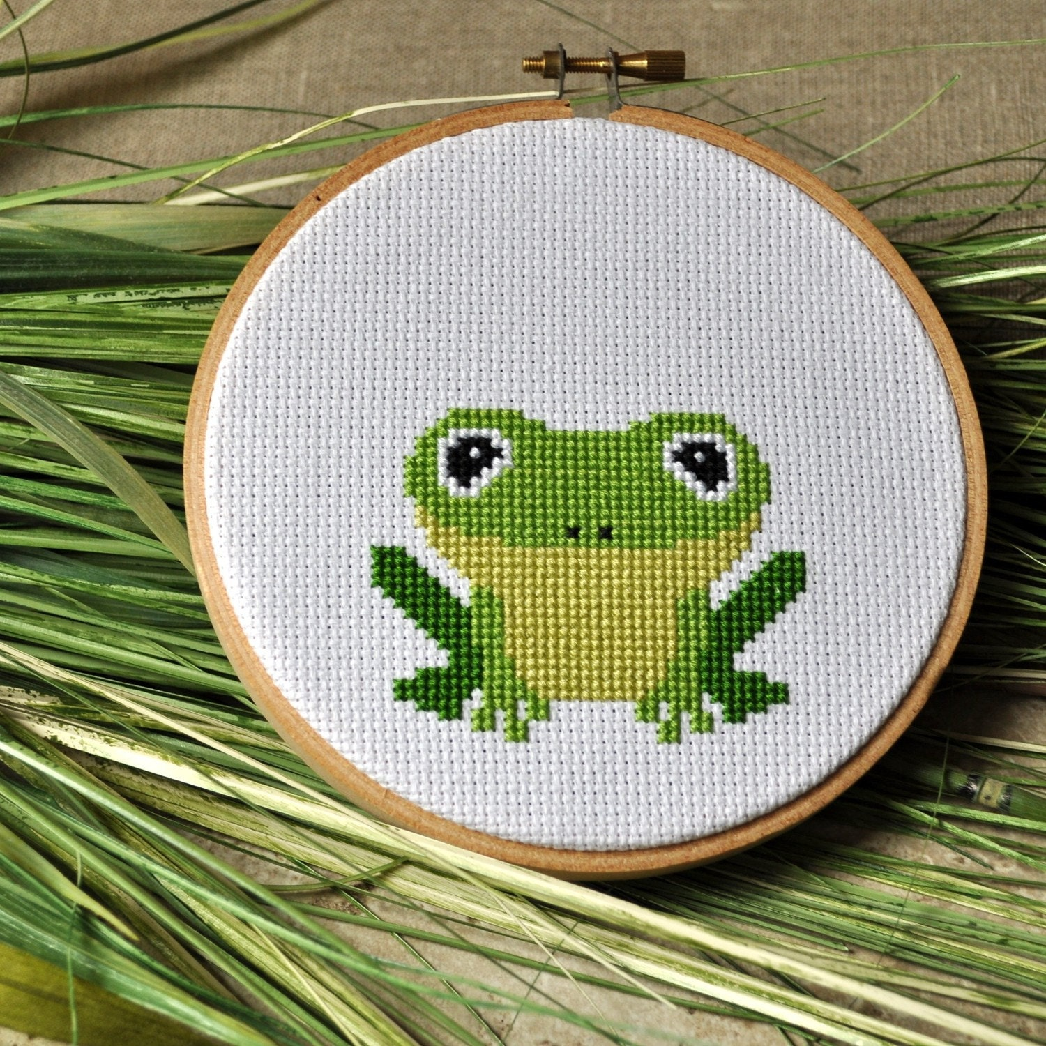 Holiday counted cross stitch patterns - free and custom stained