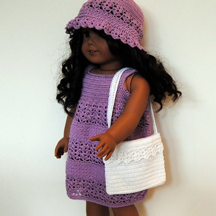 Free Crochet Patterns to Make Doll Clothes for American Girl Dolls