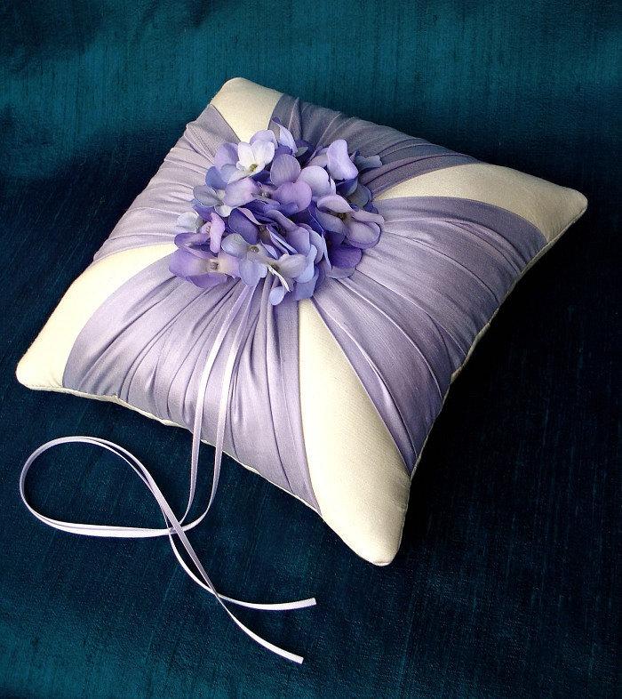 Лаванда шелковый кушак Гортензия кольцо предъявителя подушку