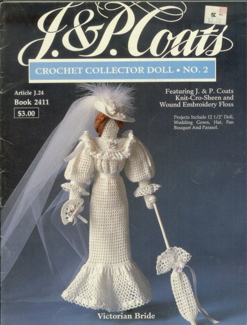 CROCHET YESTERYEAR VICTORIAN DOLL PATTERN « CROCHET FREE PATTERNS