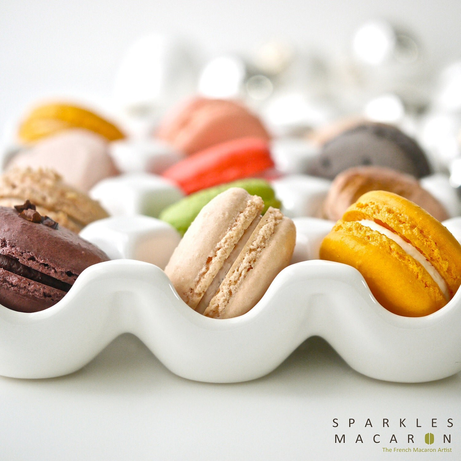 48 Assorted Regular French Macarons - Perfect for tea time