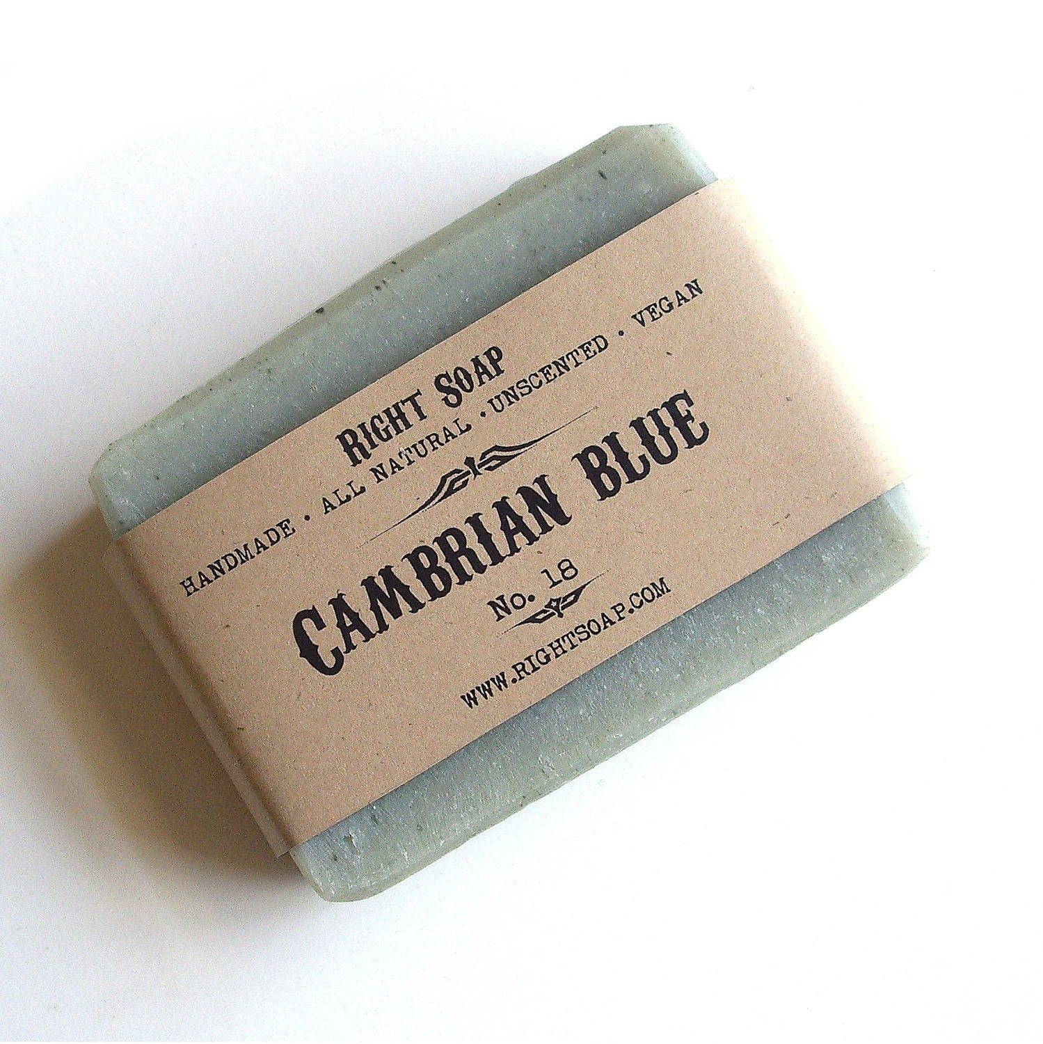 Cambrian Blue Soap - Detox soap, All Natural soap, Vegan soap, Unscented Soap - RightSoap