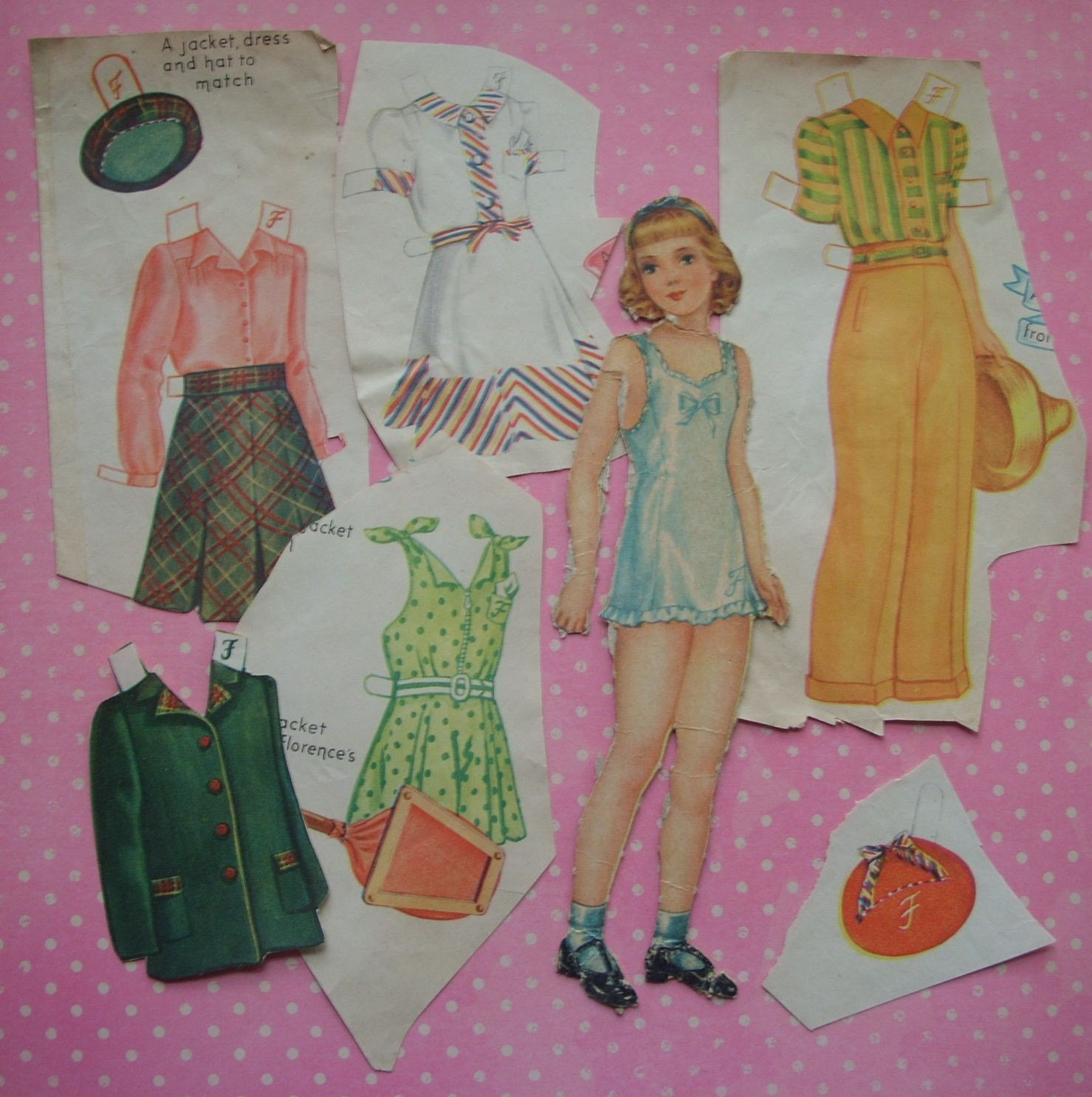 il 75x75.220988650 1942 Shirley Temple as Teen paper doll, Saalfield No. 2425   photoesque
