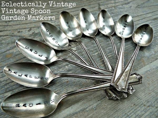 Engraved Vintage Spoon