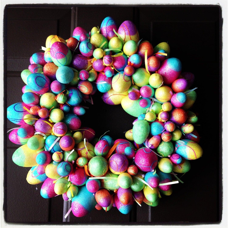 Easter Wreath - DoorDecorLondon