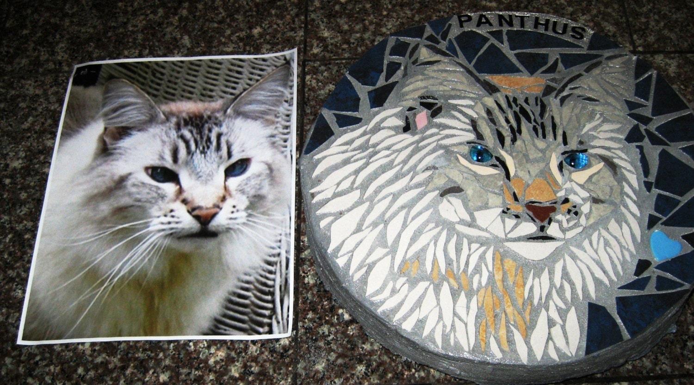 Custom Memorial Stone for Cat
