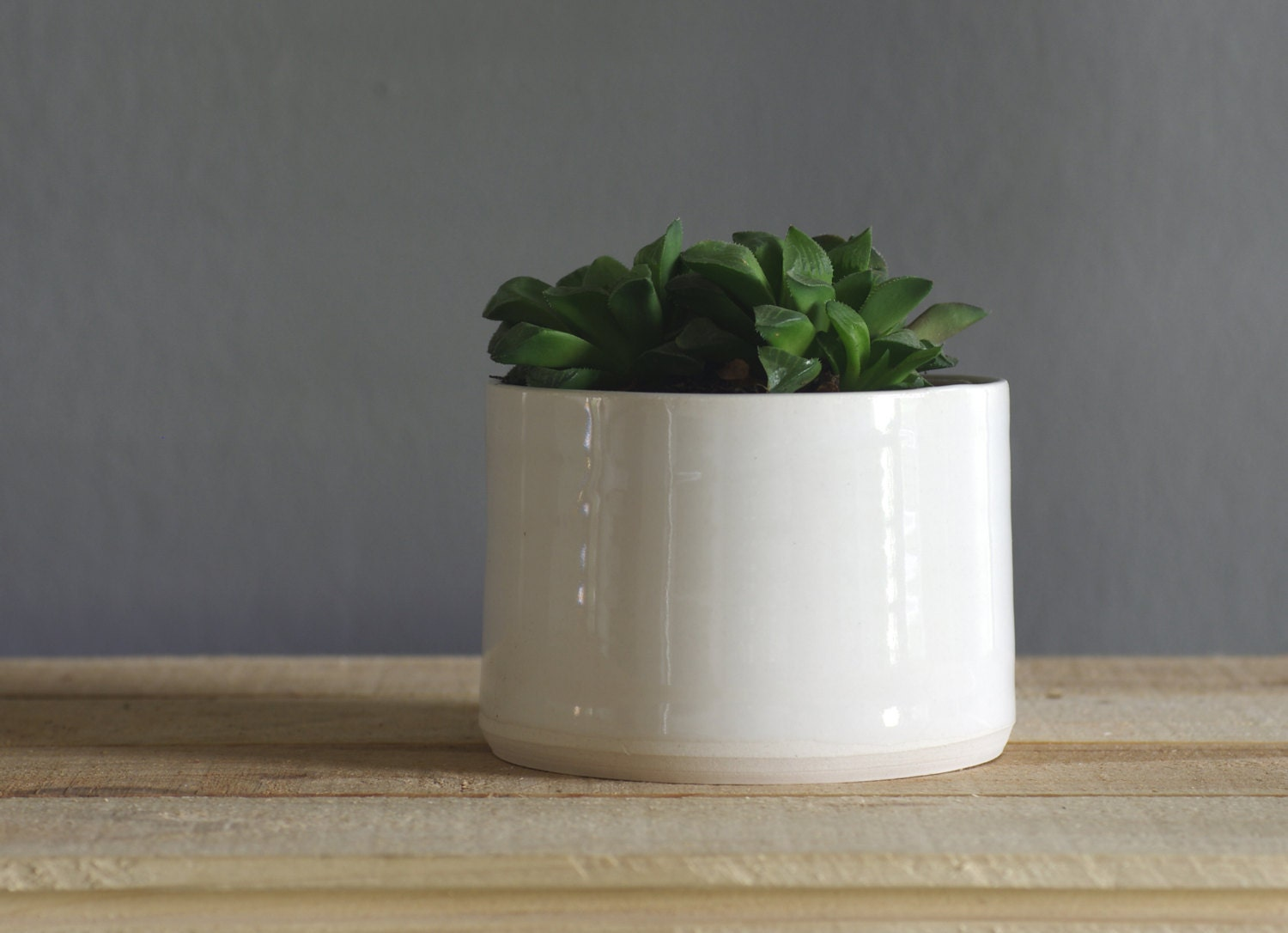 porcelain planter white modern pottery. small size. vitrifiedstudio pottery ceramics - vitrifiedstudio