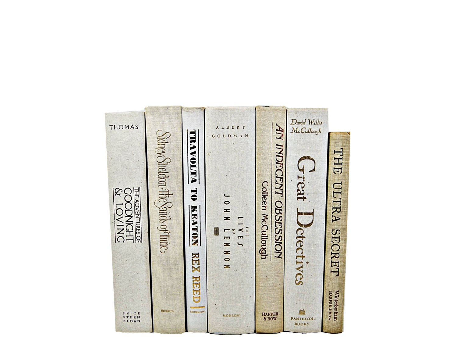 BEIGE WHITE  Decorative Books, Table Settings, Wedding Centerpiece Decor, Book Collection, Home  Decor, Interior Design,ivory - HucksterHaven