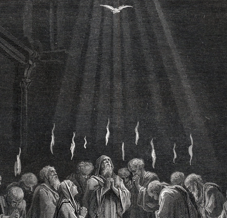 Pentecost - Gustave Dore