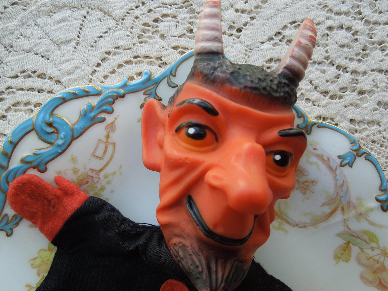 Vintage Devil Puppet