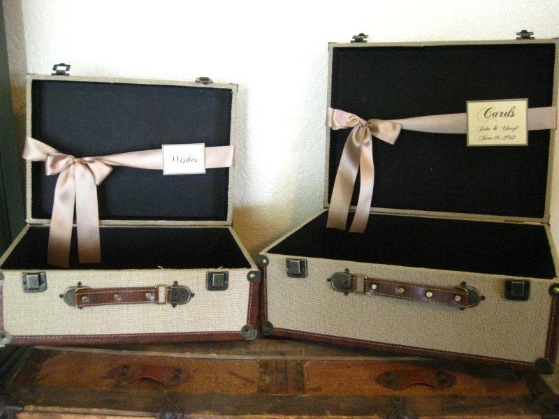 Vintage Card Box For Wedding Vintage Wedding Card Box