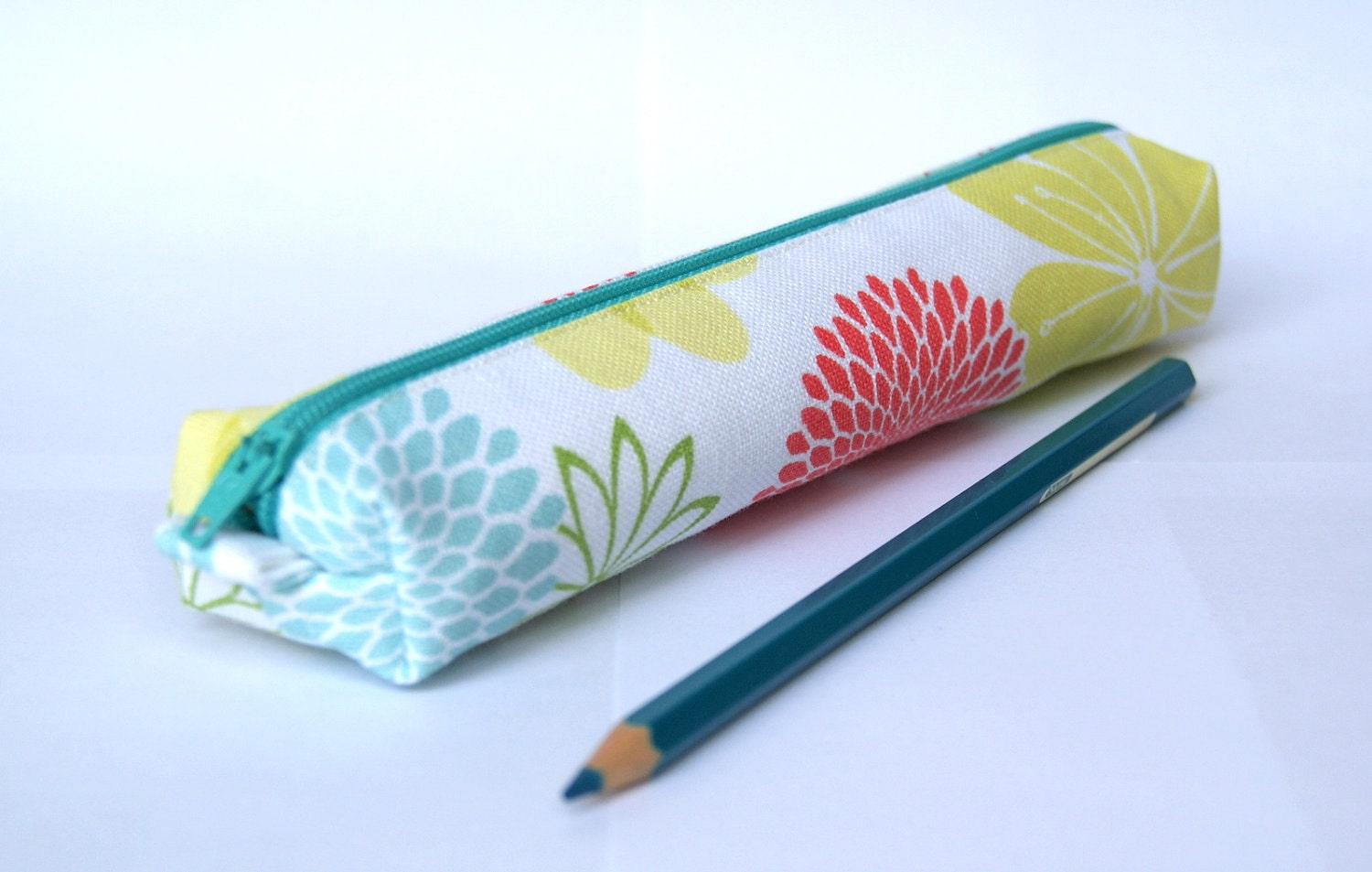 Petite Spring Floral Pencil Case - Last One