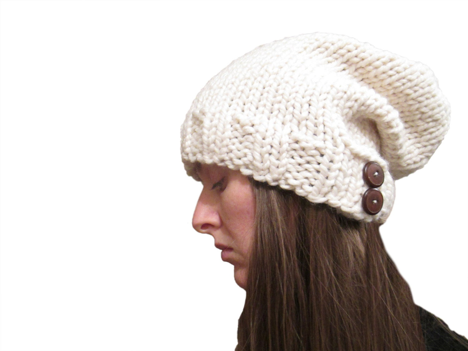 Easy Slouchy Hat Knitting Pattern Straight Needles : KNIT HAT PATTERNS STRAIGHT NEEDLES 1000 Free Patterns