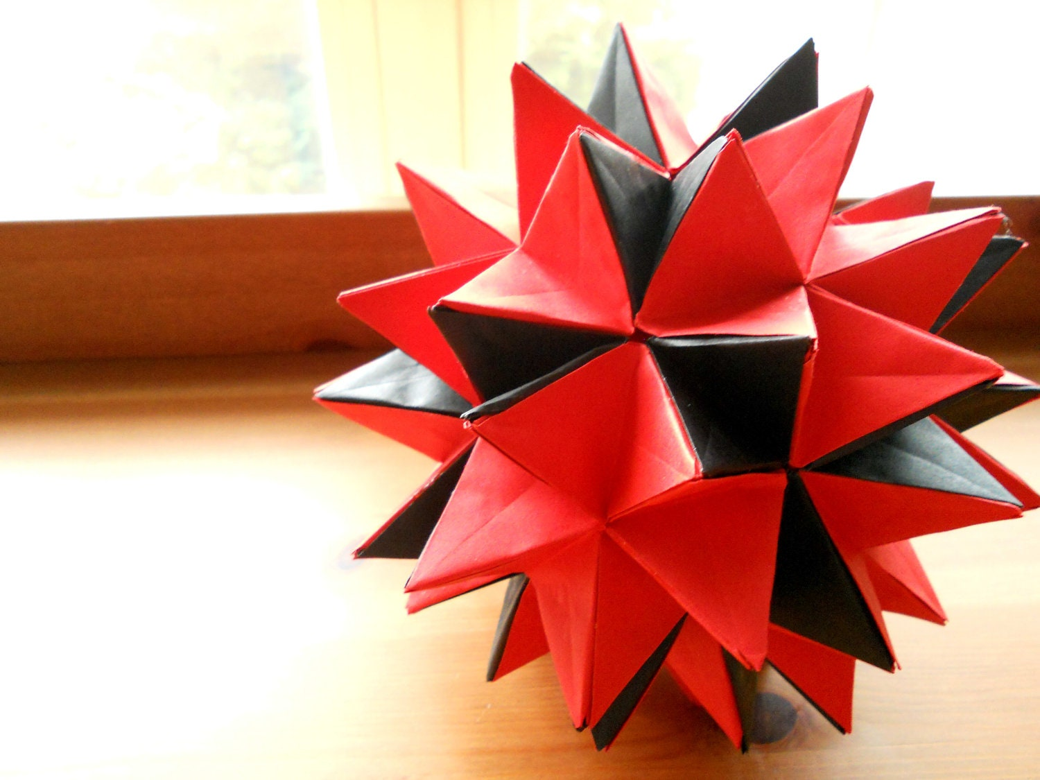 how to make an origami spiky ball short hairstyle 2013
