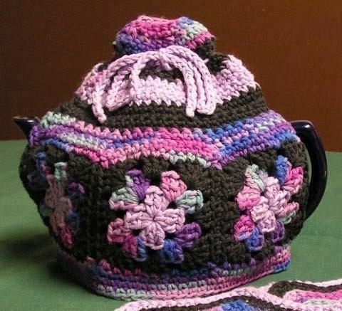 Free Tea Cosy Crochet Patterns Online : CROCHET PATTERNS FOR TEA COZIES FREE CROCHET PATTERNS