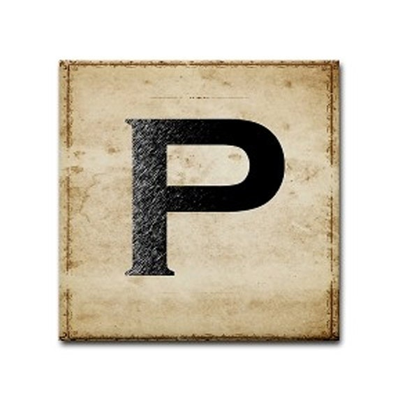 Letter P - TintPress