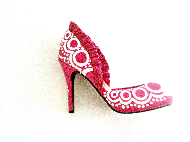 Lipstick Love Heels Sz 7.5
