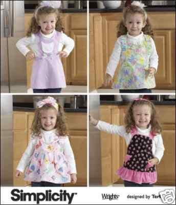 Free Sewing Pattern - Apron for a DIYva from the Apron Free Sewing