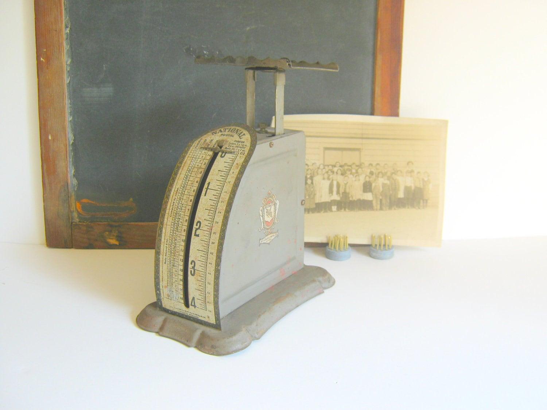 Vintage Postal Scale Gray RollingHillsVintage - RollingHillsVintage