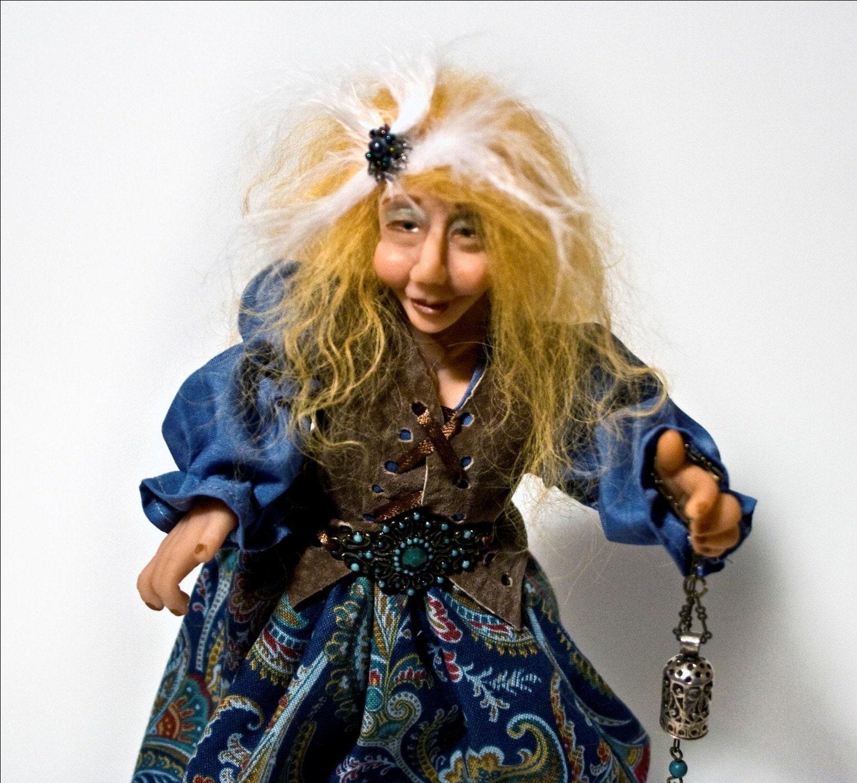 OOAK Art Doll - Esmerelda - Healing Fae