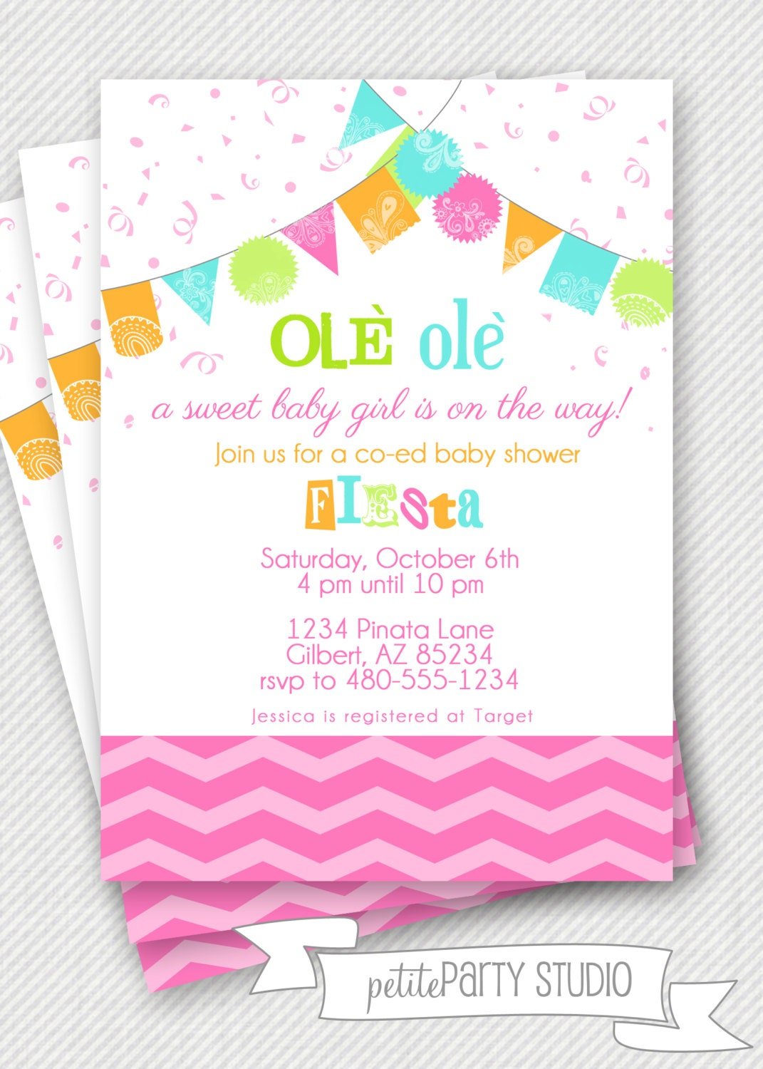 Fiesta Party Invites for best invitation sample