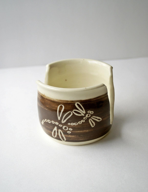 Ceramic Sponge Holder Brown