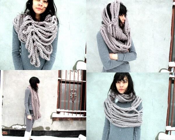 Вязаные шарфы фото - Волшебный мир