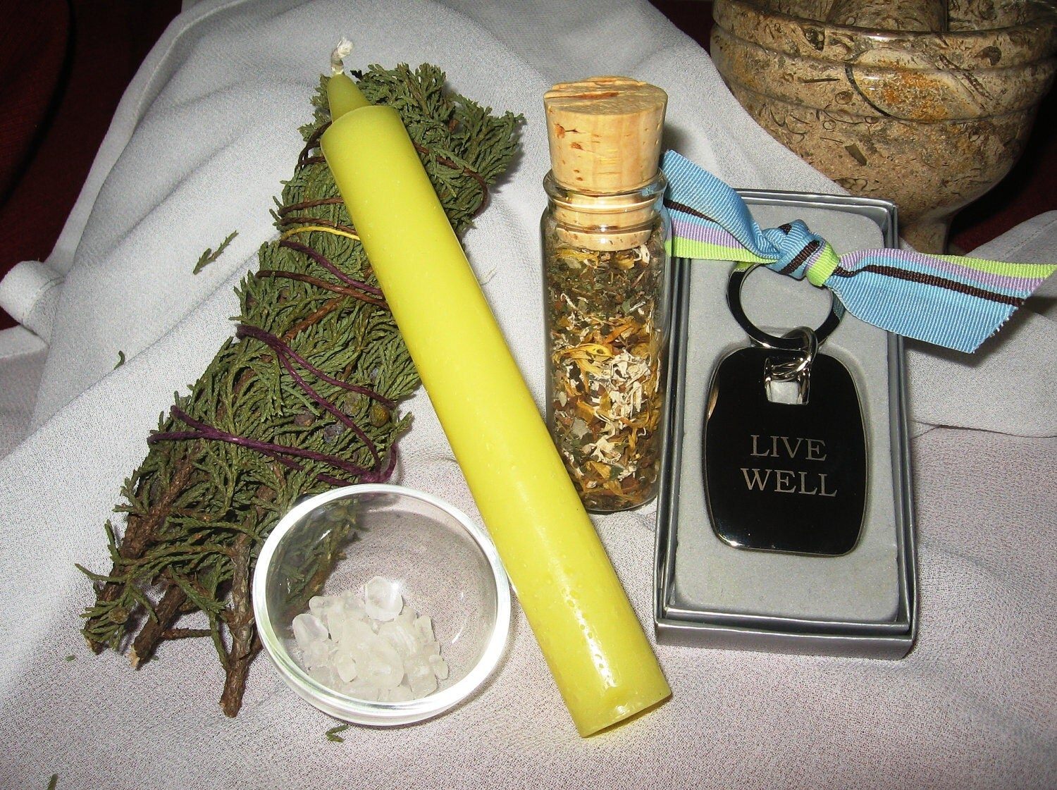 Deluxe New Home Cleansing and Blessing Spell Kit - OOAK