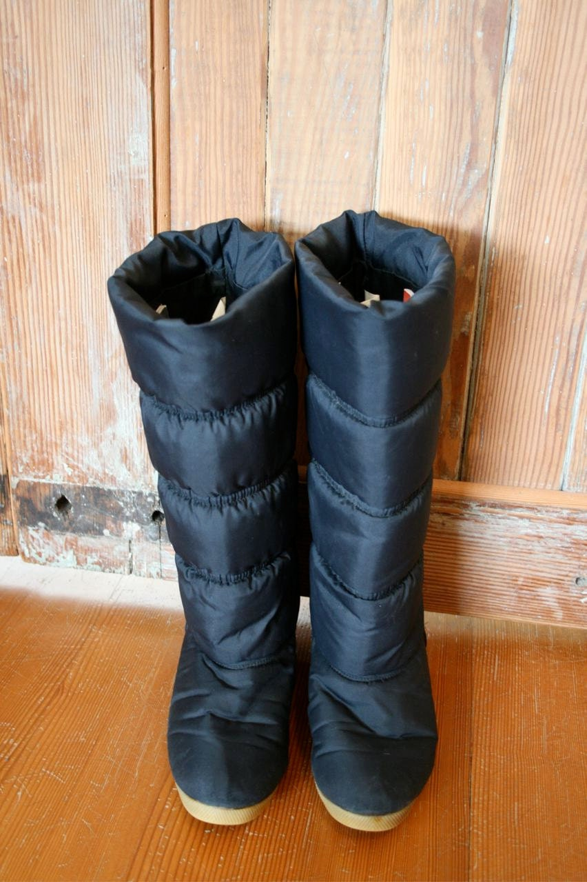 Puffy Boots
