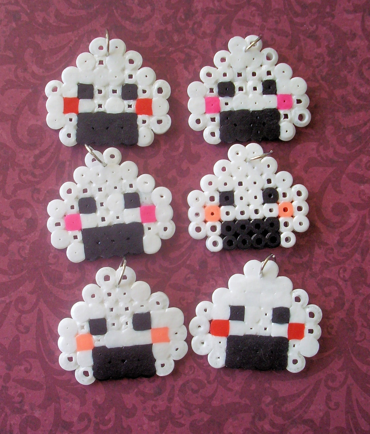 how to make perler bead food