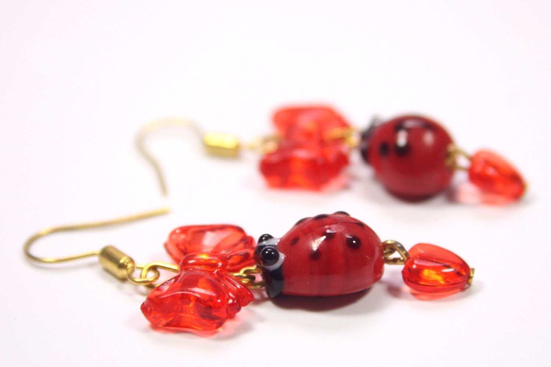 Love-Bug Earrings