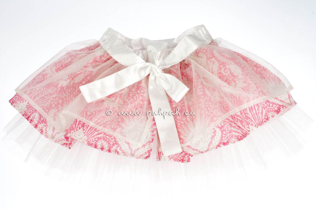 Bupleurum- Girls designer party skirt (1 to 4 years) - unique item. - PuhPah