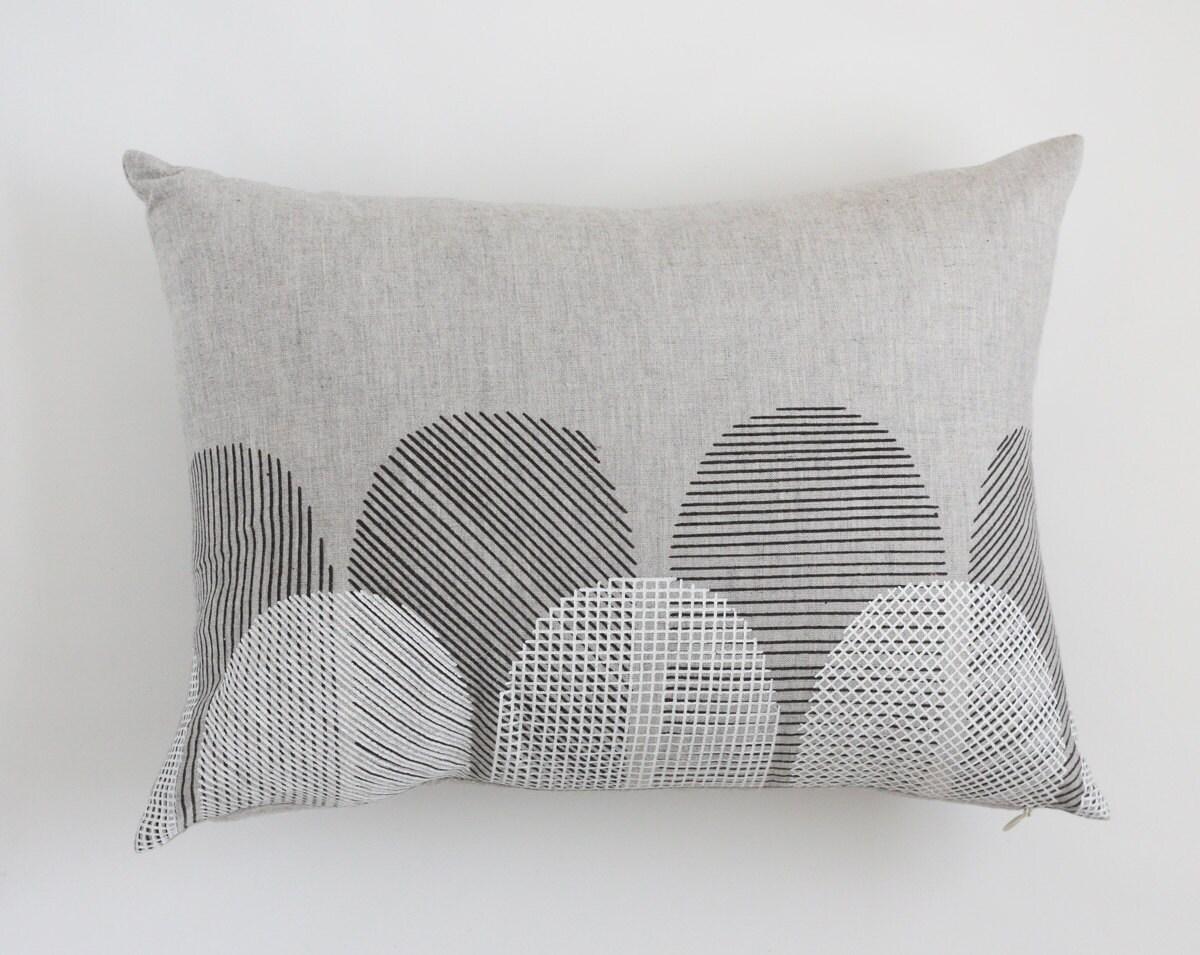 Rectangle Pillow Cover - Scallop - jennarosehandmade