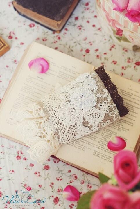 Ищете НЕЖНОСТЬ - 8 викторианской Vintage манжеты Браслеты Романтический кружевной ткани