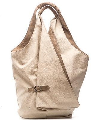 "Beige Urban Style City Tote Purse Shopper Handbag - ""Madlen"" - Atelier16"