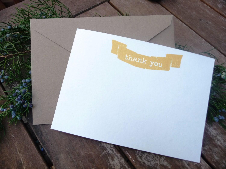 Thank you card, banner design