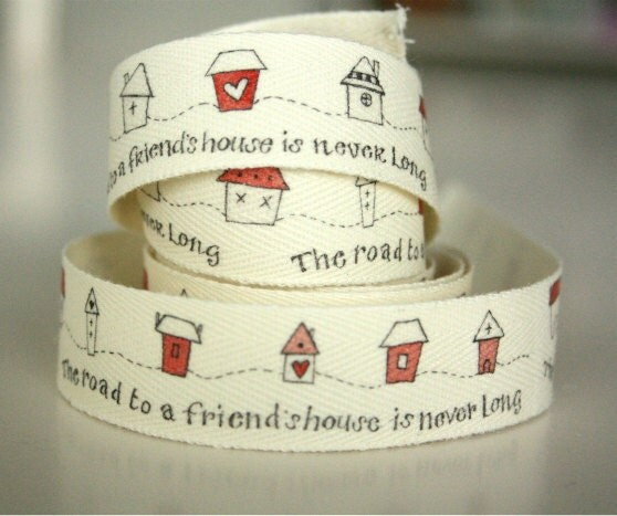 Road To A Friend Cotton Tape