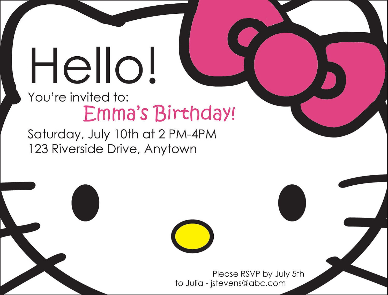 Free Invite Maker as awesome invitation template