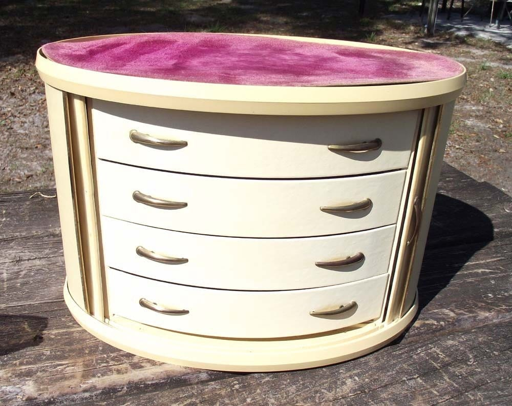 Jewelry Chest with Rollback Doors