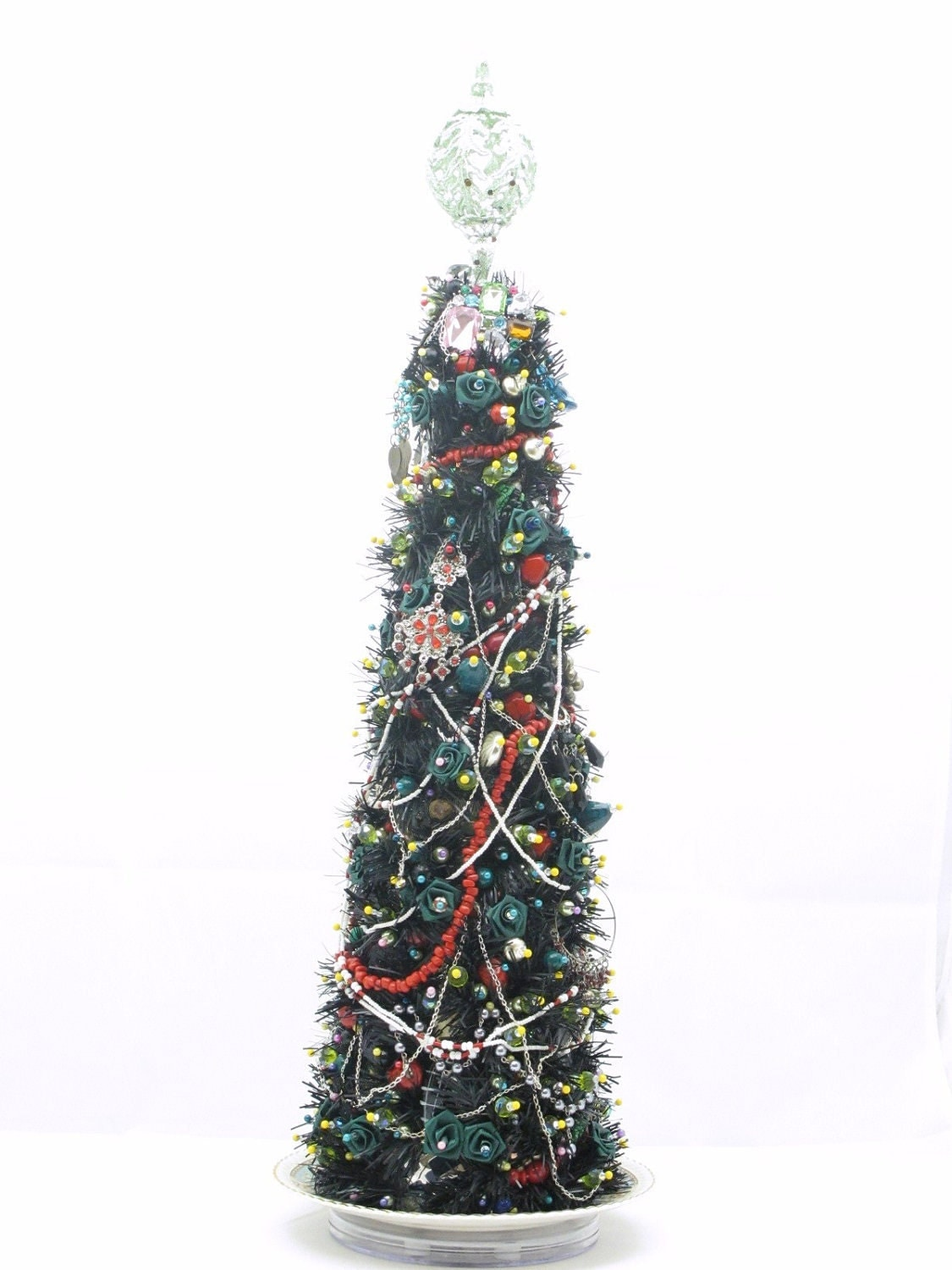 Christmas Tree Centerpiece - / Display  Happy Moon